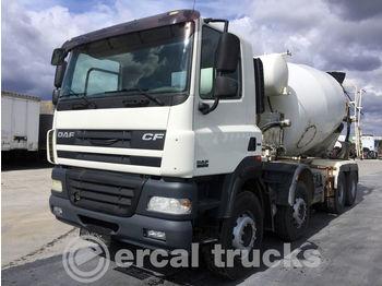 DAF 2010 CF 85.410 AC 8X4 EURO 5 10 M³ SCHWING-STETTER MIXER - betonmixer