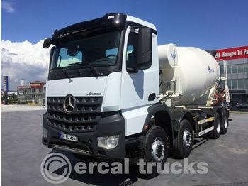 MERCEDES-BENZ 2016 AROCS 4142 AUTO AC 8X4 /EURO 6 12M3 CONCRETE MIXER 23 PCS - betonmixer