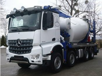 Mercedes-Benz AROCS 3243 8x4 EURO6 Pumi Schwing 26M  - betonpomp