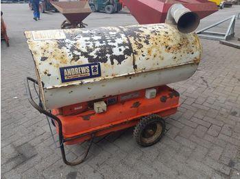 ANDREWS portable heater - bouwkachel