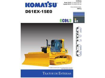 Bulldozer KOMATSU D61 EX-15EO