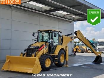 Caterpillar 428F2 LIKE NEW - LOW HOURS - GOOD CONDITION - graaflaadmachine