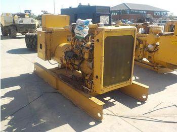 CAT 225KvA Skid Mounted Generator, CAT 6 Cylinder Engine - industrie generator