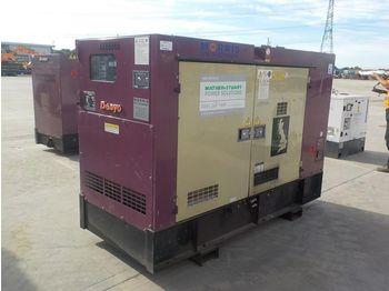 Denyo DCA-70ESEI - industrie generator