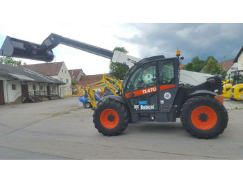 Bobcat TL 470 XHF 40 km/h Maschine  - wiellader