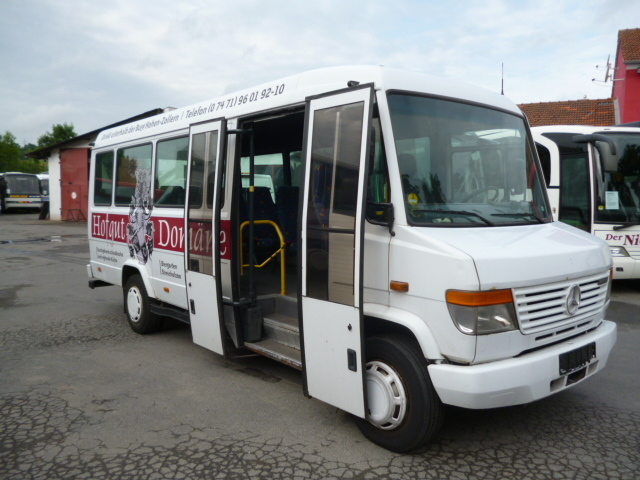 Mercedes benz 815 d vario city bus from germany for sale for Mercedes benz of atlantic city