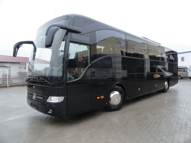 Mercedes benz tourismo r2 black edition coach from norway for Mercedes benz coach