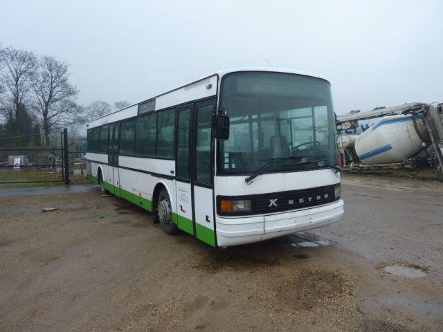 Setra S 215 Nr Mit Mercedes Motor Coach From Belgium For