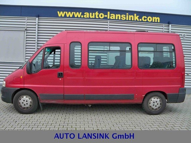 fiat ducato maxi 2 8 jtd 14 sitze minibus from germany. Black Bedroom Furniture Sets. Home Design Ideas