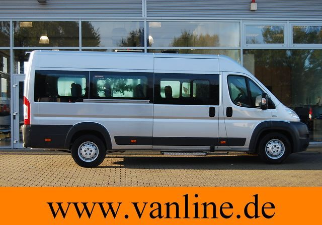 fiat ducato maxi bus 16 1 sitzer lagerwagen euro4. Black Bedroom Furniture Sets. Home Design Ideas
