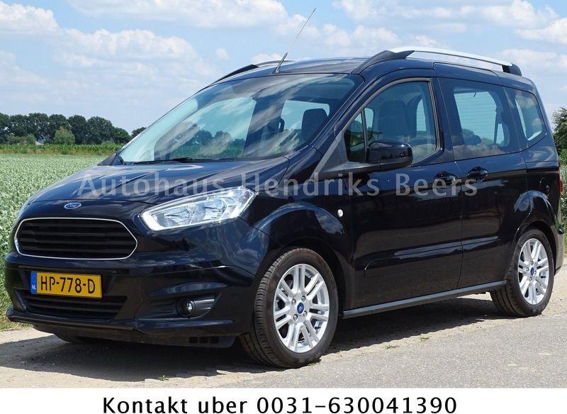 Ford Tourneo Courier 1 5 Tdci Titanium Euro 5 Klima Minibus From