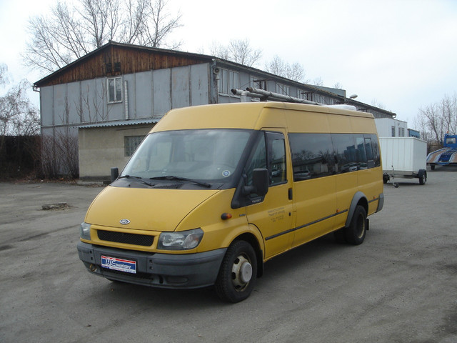 ford transit 17 sitze bus klima minibus from czech. Black Bedroom Furniture Sets. Home Design Ideas