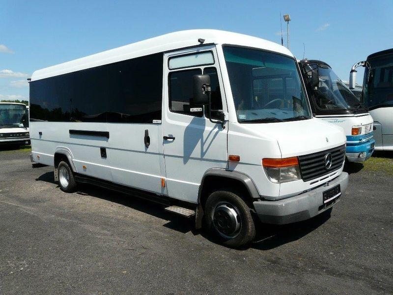 Mercedes benz 615 vario minibus from poland for sale at for Mercedes benz minibuses