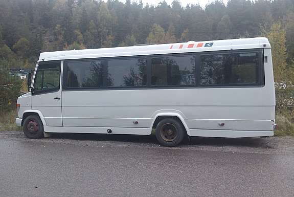 Mercedes Benz 814 Vario 22 Sitze Minibus From Germany For