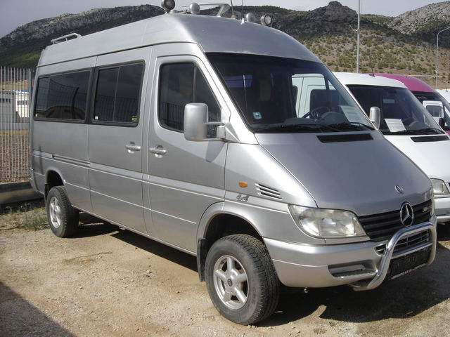 mercedes benz sprinter 316 cdi 4x4 minibus from greece for. Black Bedroom Furniture Sets. Home Design Ideas