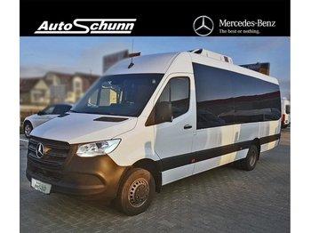Minibus MERCEDES-BENZ Sprinter 516 cdi EXTRALUNG 22+1 LOCURI WEBASTO: photos 1