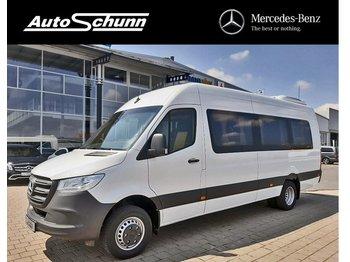 Minibus MERCEDES-BENZ Sprinter 516 cdi EXTRALUNG SAM 19+1+1-WEBASTO: photos 1