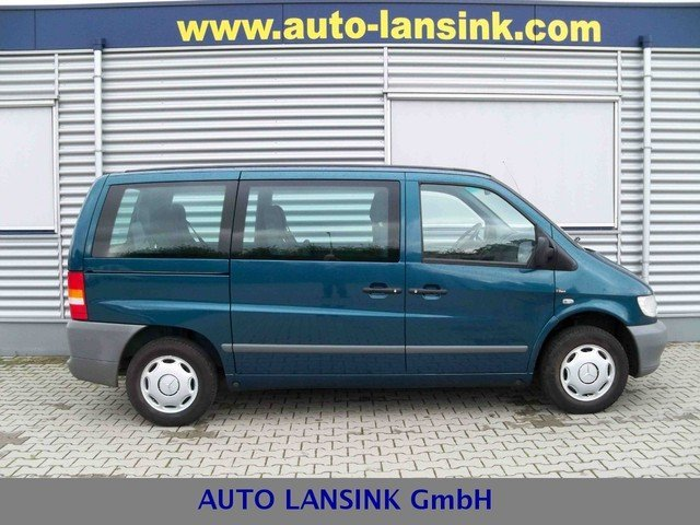 mercedes benz vito 108cdi klima 7 sitzer minibus from. Black Bedroom Furniture Sets. Home Design Ideas