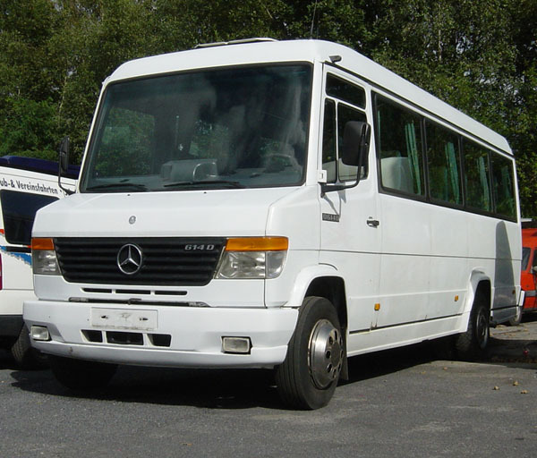 mercedes o 614 d minibus from germany for sale at truck1