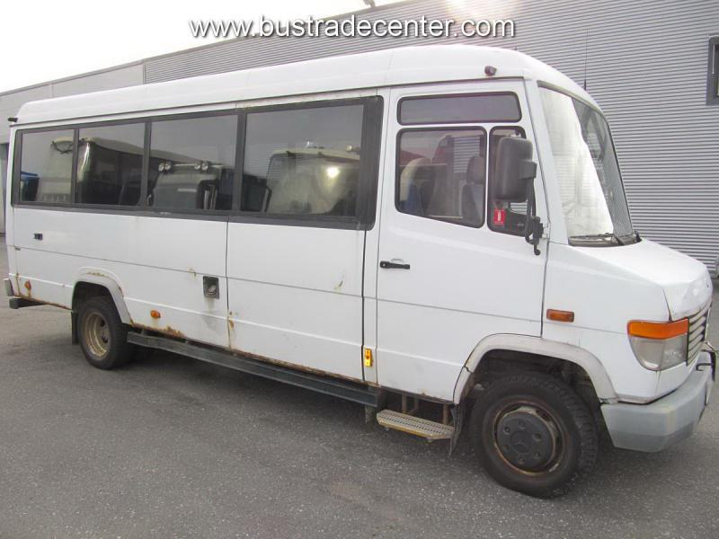 Mercedes vario 614 minibus from sweden for sale at truck1 for Mercedes benz minibuses