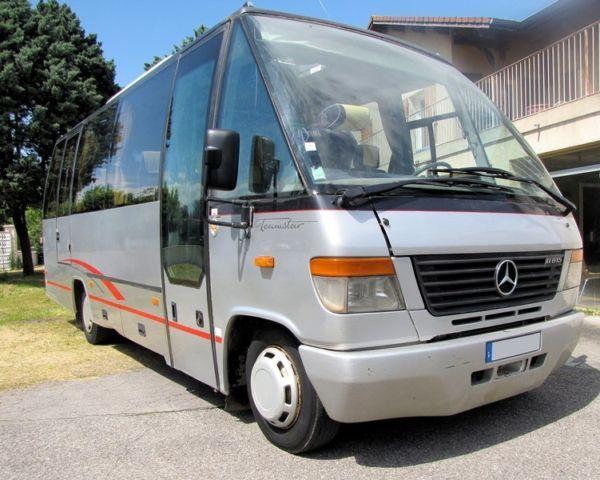mercedes benz o814d teamstar auwarter minibus from france. Black Bedroom Furniture Sets. Home Design Ideas