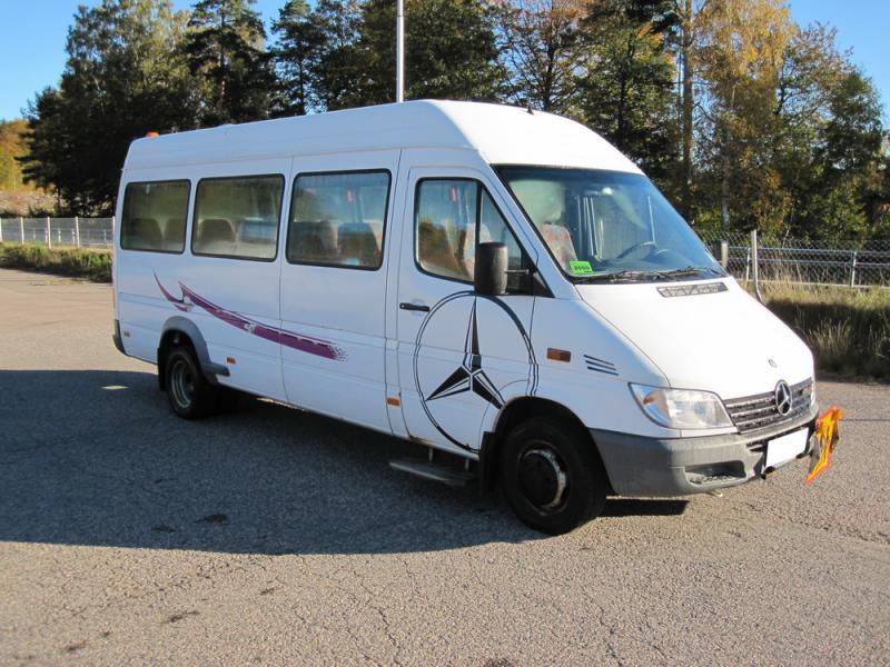 Mercedes benz sprinter 416 cdi minibus from sweden for for Mercedes benz minibuses