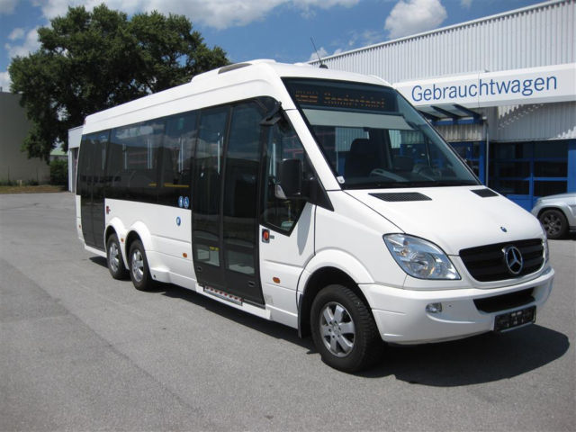 Mercedes benz sprinter city 77 minibus from germany for for Mercedes benz minibuses
