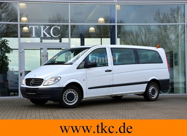 mercedes benz vito 109 cdi x lang 9 sitzer 2 2 2 3 klima minibus from germany for sale at. Black Bedroom Furniture Sets. Home Design Ideas
