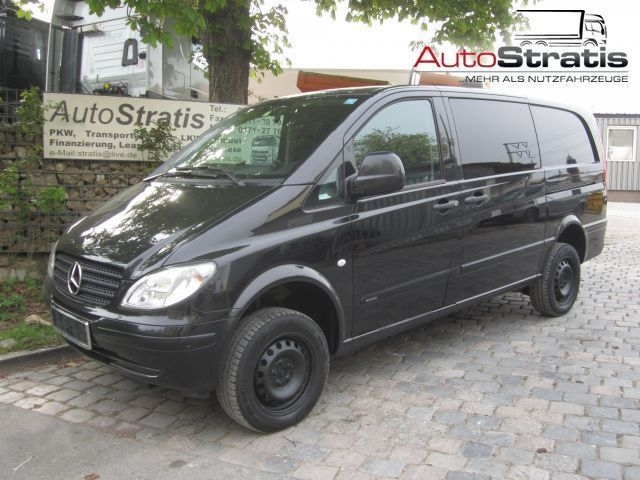 mercedes benz vito 115 cdi lang mixto 4x4 klima businessvan minibus from germany for sale at. Black Bedroom Furniture Sets. Home Design Ideas