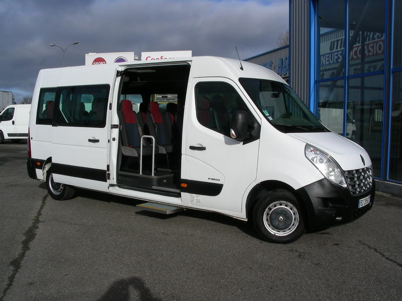 Renault Master 17 Places Minibus From France For Sale At
