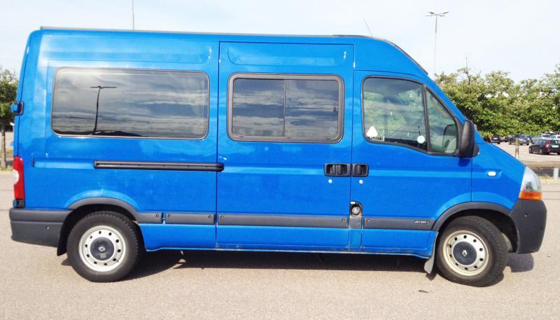 renault master l2h2 minibus from sweden for sale at truck1 id 1035412. Black Bedroom Furniture Sets. Home Design Ideas