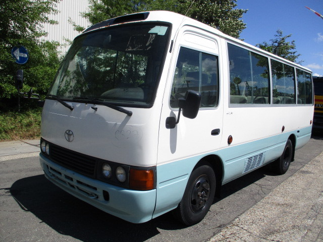 aa99c5e2ba Toyota COASTER minibus from Belgium for sale at Truck1