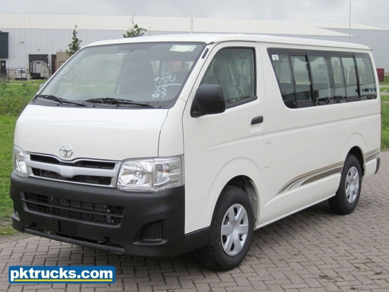 New Toyota Hiace 2 Units Minibus For Sale From