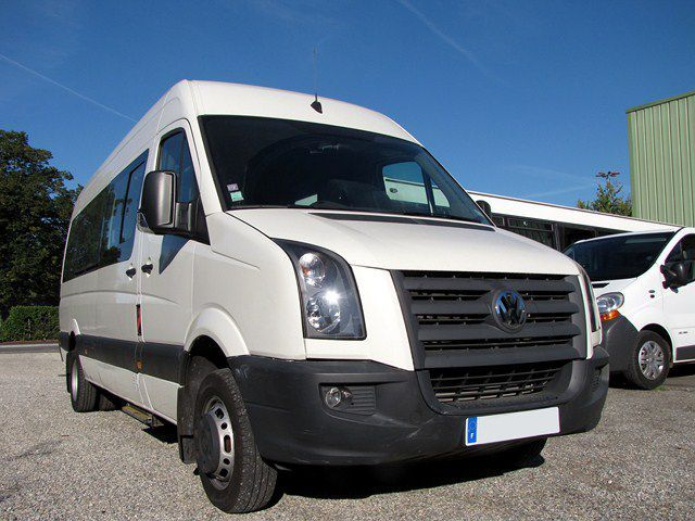 volkswagen crafter minibus minibus from france for sale at truck1 id 1038671. Black Bedroom Furniture Sets. Home Design Ideas