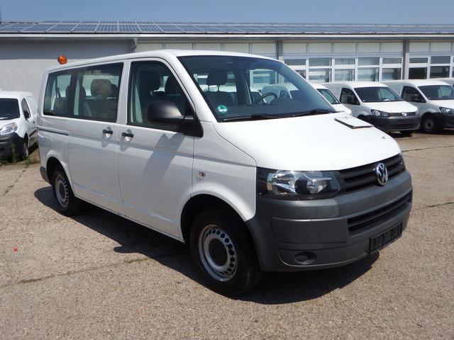 vw t5 transporter 2,0 l - klima 9-sitzer standheizu minibus from