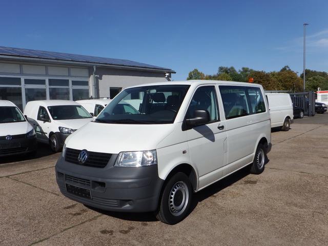 vw transporter t5 1,9l - klima 9-sitzer minibus from germany for