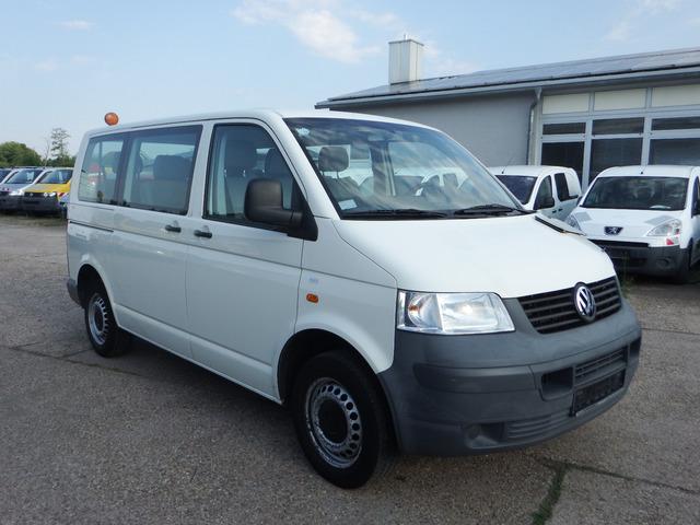 vw transporter t5 1,9l tdi - klima - 9-sitzer minibus from germany