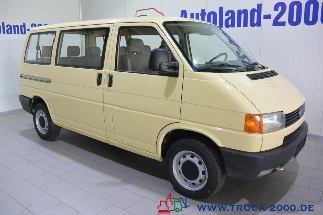 Extremement Volkswagen T4 Syncro 8 Sitze 1.Hd Standheizung AHK 129 Tkm minibus PW-71