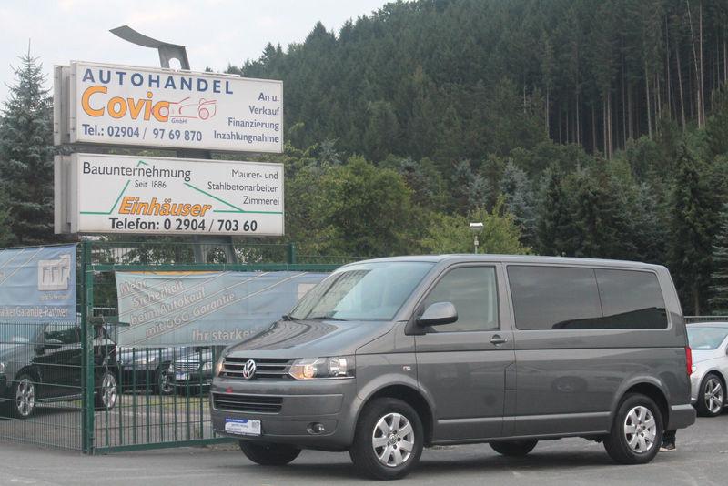 volkswagen t5 caravelle 2,0 tdi 4motion 9-sitzer navi klima minibus