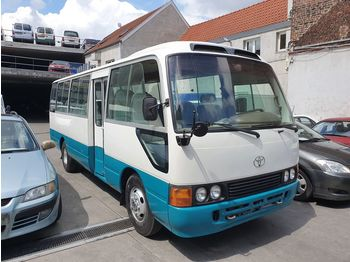 TOYOTA Coaster .... Japan made .... not china ......BELGIUM... - suburban bus