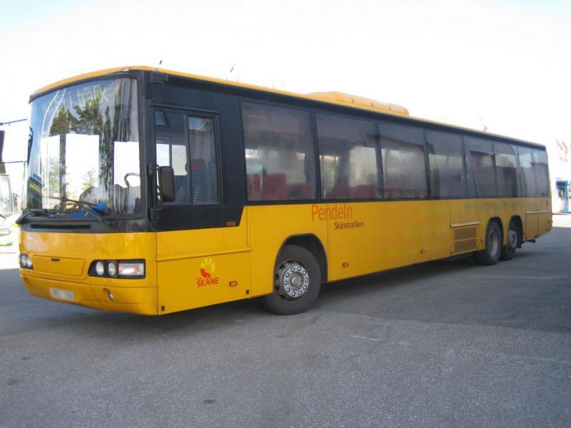 Volvo Carrus Vega L B10ble Suburban Bus From Sweden For