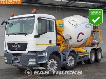 MAN TGS 35.360 8X4 M Manual Big-Axle Steel Suspension Euro 5 - betongblander