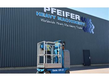 Genie GR-15 Electric, 6.35m Working Height, Non Marking  - bomlift