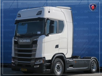 Scania S450 A4X2NB   FULL AIR   DIFF   STAND ALONE AIRCO   NAVIGATION - cabeza tractora