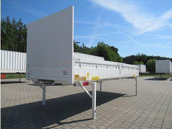 Krone - BDF-Wechselpritsche mit Bordwand 7,45 m - carroçaria - caixa aberta