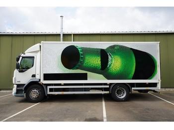 DAF LF 55.220 CLOSED BOX 209.000KM - camião furgão