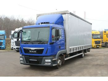 Camião toldo MAN TGL12.220 4X2 BL, EURO 6, SERVICE BOOK