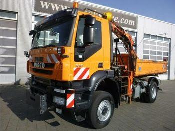 Caminhão basculante IVECO 190 E 31 4x4 Darus Billencs Kommunális