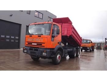 Iveco Eurotrakker 260 E 30 (BIG AXLE / STEEL SUSPENSION / MANUAL PUMP) - caminhão basculante
