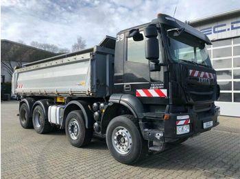 Caminhão basculante Iveco TRAKKER 450 8x4 EEV Dreiseitenkipper Meiller: foto 1